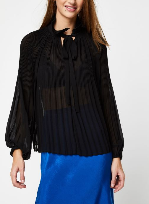 Vêtements School Rag Chemise Caina Noir vue droite