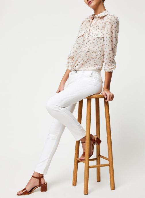 Vêtements School Rag Chemise Calia Blanc vue bas / vue portée sac