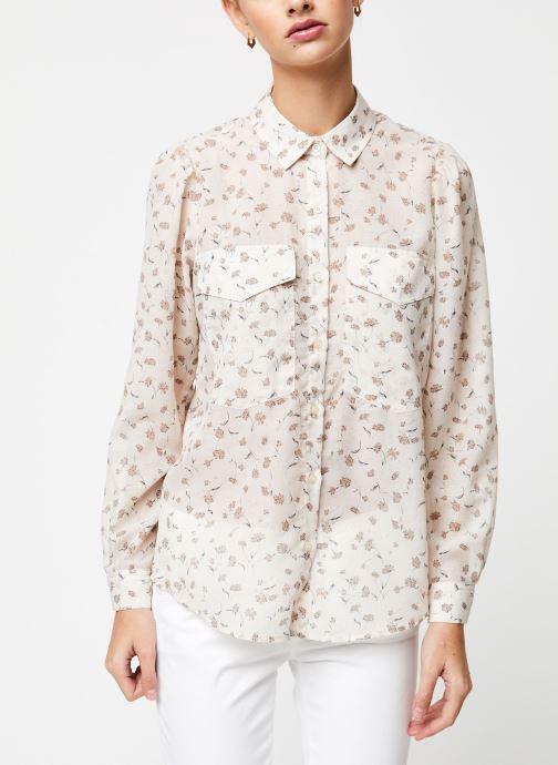 Vêtements School Rag Chemise Calia Blanc vue droite