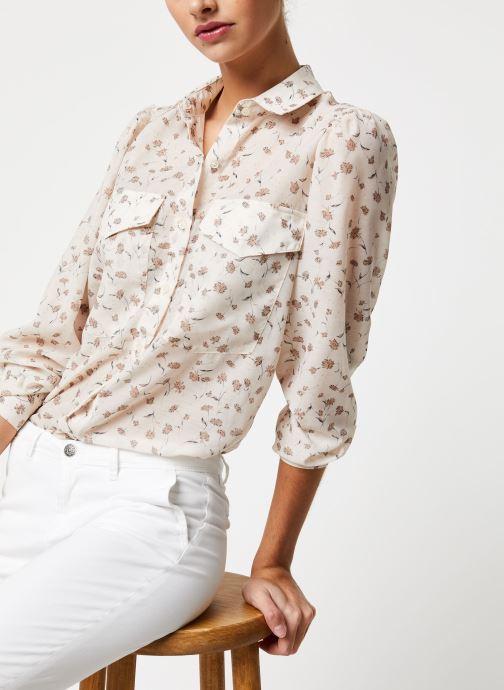 Vêtements School Rag Chemise Calia Blanc vue détail/paire