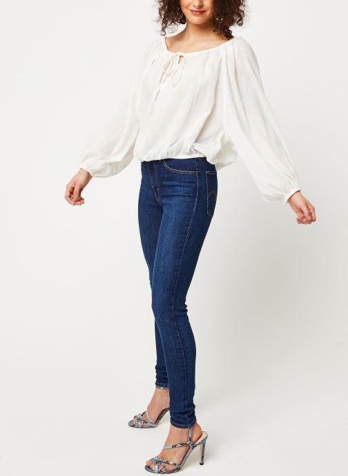 Vêtements School Rag Chemise Celestina Blanc vue bas / vue portée sac