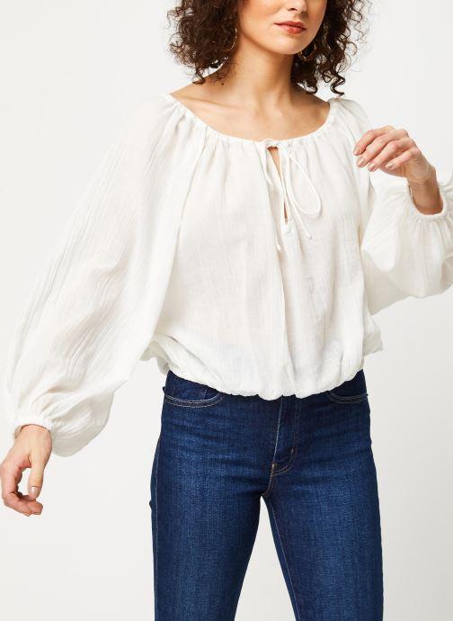 Vêtements School Rag Chemise Celestina Blanc vue droite