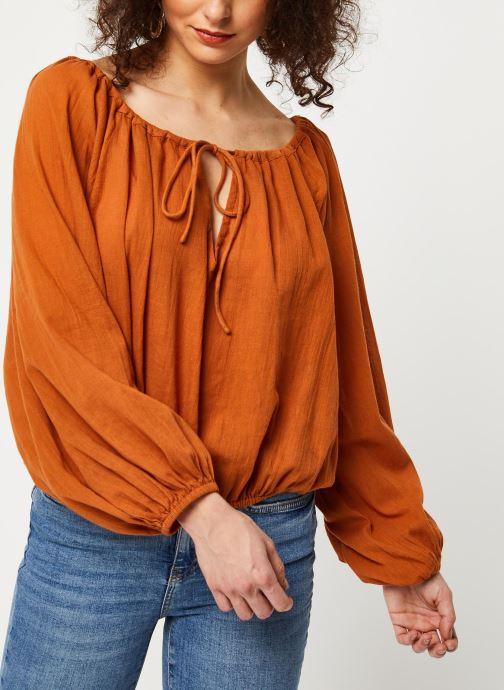 Vêtements School Rag Chemise Celestina Marron vue détail/paire