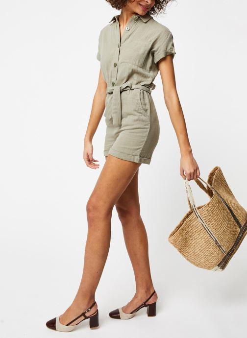 Vêtements School Rag Combinaison Cerise Vert vue bas / vue portée sac