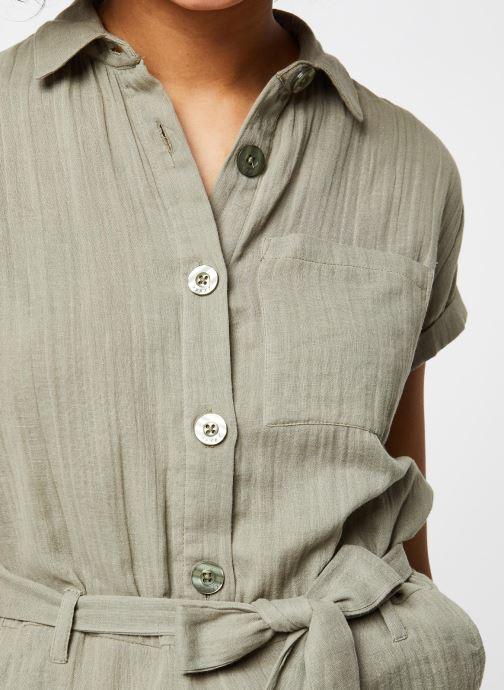 Vêtements School Rag Combinaison Cerise Vert vue face