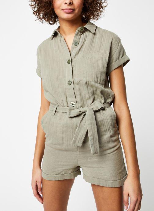 Vêtements School Rag Combinaison Cerise Vert vue droite
