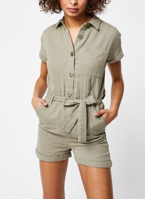 Vêtements School Rag Combinaison Cerise Vert vue détail/paire