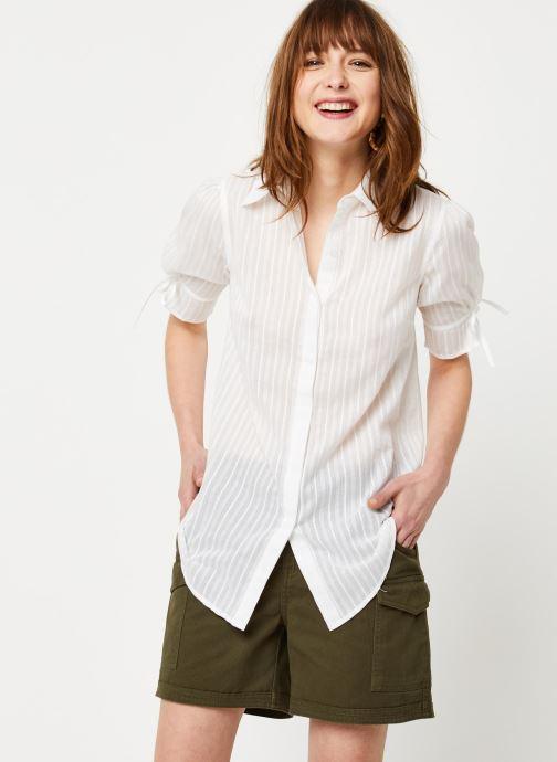 Vêtements School Rag Chemise Charlie Blanc vue droite