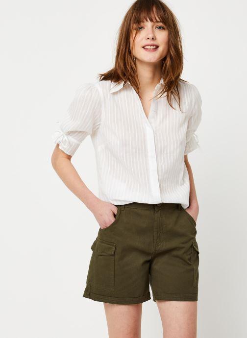 Vêtements School Rag Chemise Charlie Blanc vue détail/paire