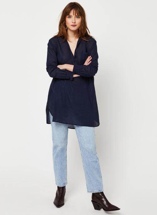 Vêtements School Rag Chemise Chima Bleu vue bas / vue portée sac