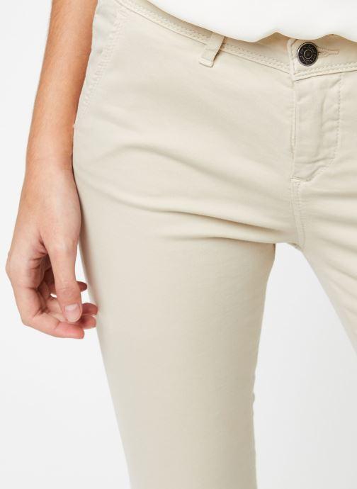Vêtements School Rag Pantalon Cloee Beige vue face