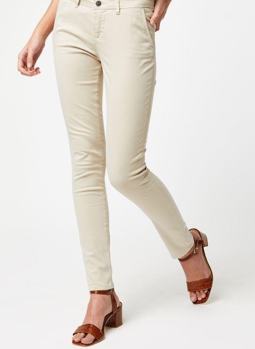 Vêtements School Rag Pantalon Cloee Beige vue détail/paire