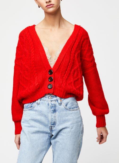 Vêtements School Rag Gilet Gina Orange vue droite