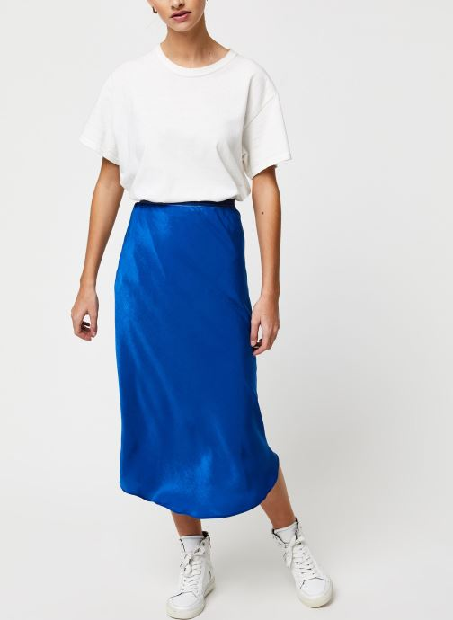 Vêtements School Rag Jupe Jade Bleu vue bas / vue portée sac