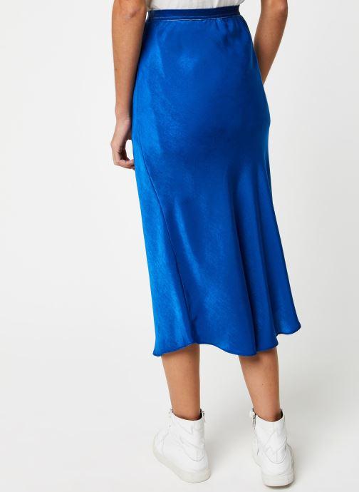 Vêtements School Rag Jupe Jade Bleu vue portées chaussures