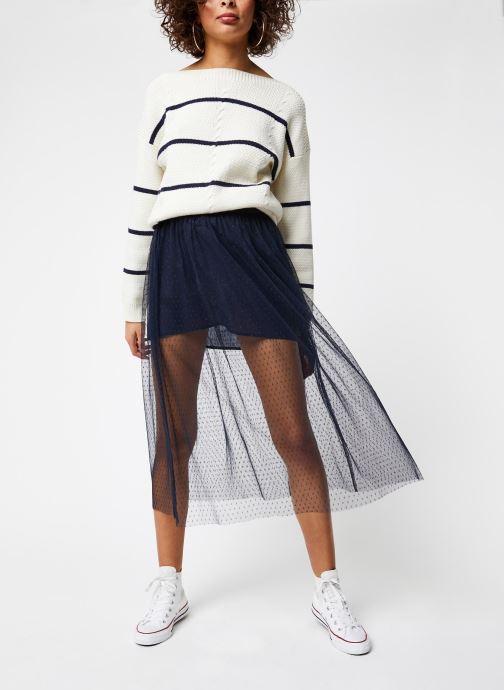 Vêtements School Rag Jupe Jasmine Dots Bleu vue bas / vue portée sac