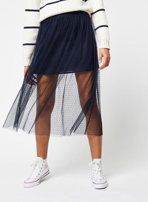 Vêtements School Rag Jupe Jasmine Dots Bleu vue détail/paire