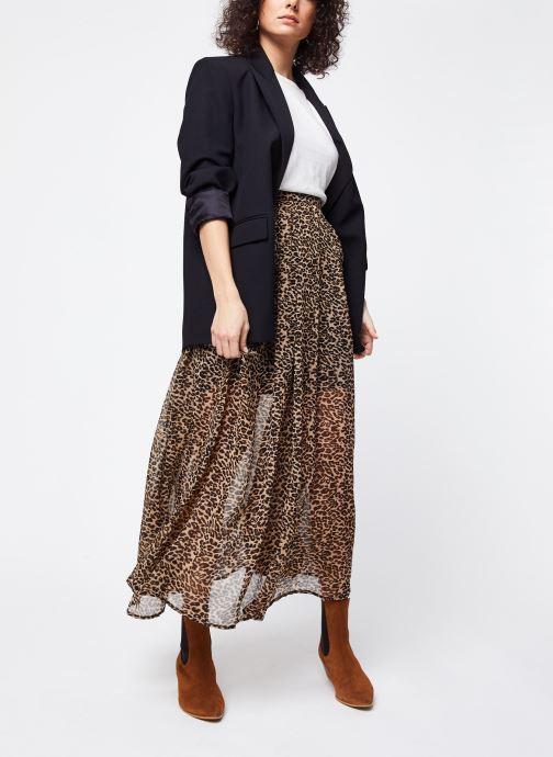 Vêtements School Rag Jupe Jyna Beige vue bas / vue portée sac