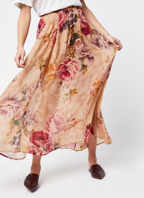 Vêtements School Rag Jupe Jyna Beige vue détail/paire