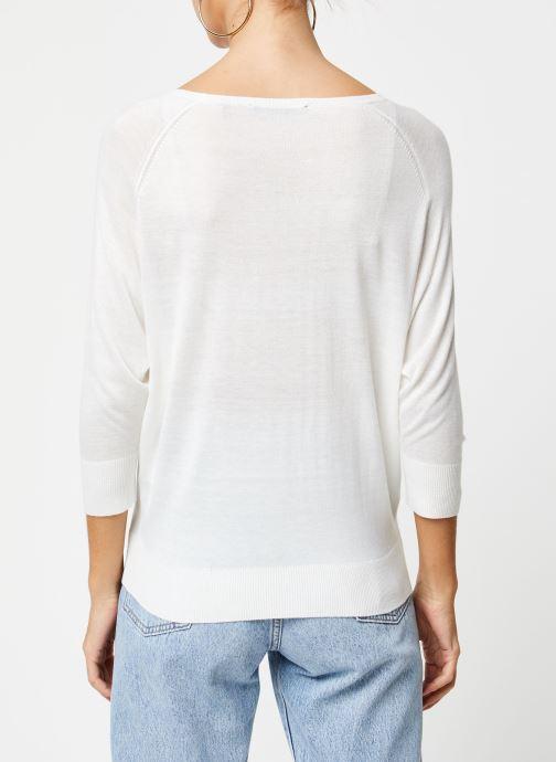 Vêtements School Rag Pull Panama Blanc vue portées chaussures