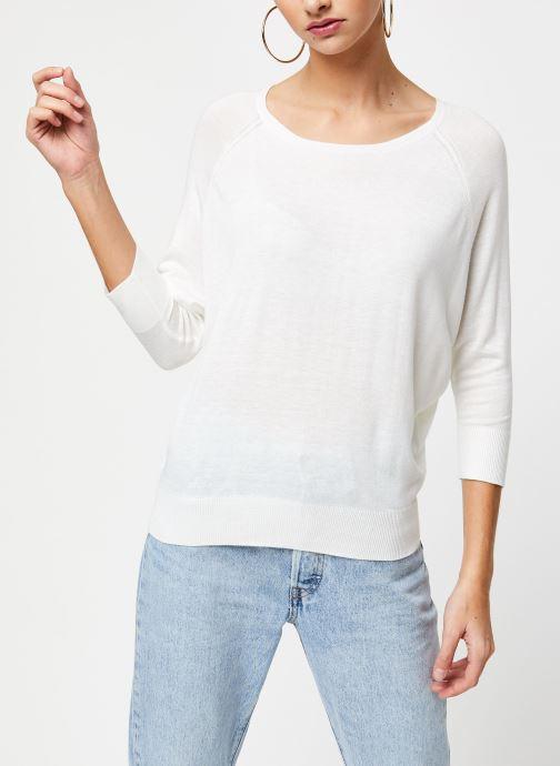 Vêtements School Rag Pull Panama Blanc vue droite