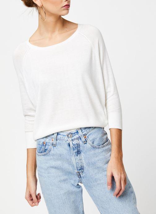Vêtements School Rag Pull Panama Blanc vue détail/paire