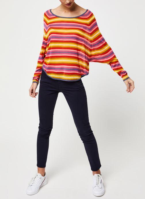 Vêtements School Rag Pull Pascaline Orange vue bas / vue portée sac