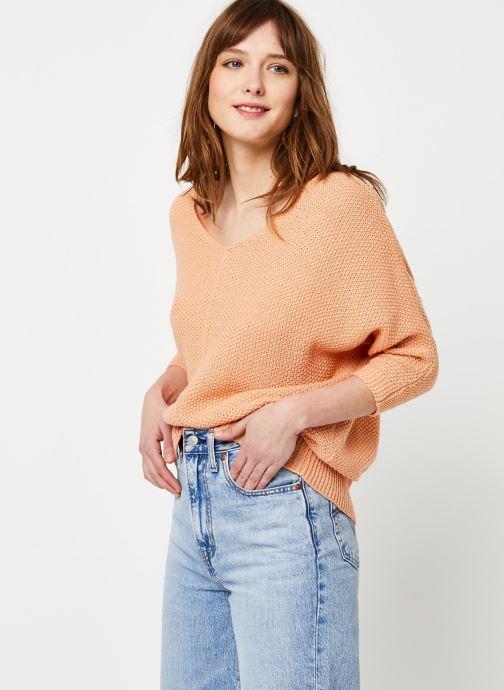Vêtements School Rag Pull Piadalena Orange vue détail/paire