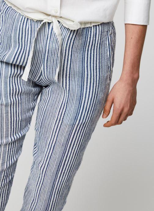 Vêtements School Rag Pantalon Princesa Stripe Bleu vue face
