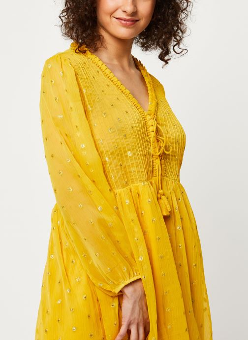 Vêtements School Rag Robe R-Seville Color Jaune vue face