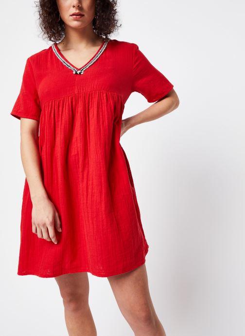 Vêtements School Rag Robe Rachela Rouge vue droite