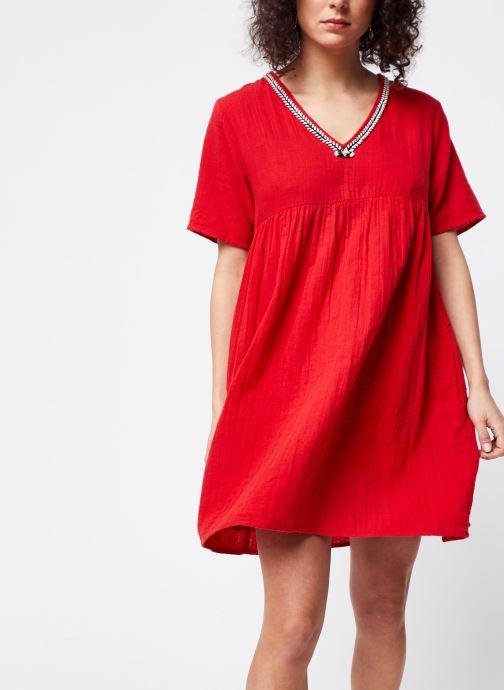 Vêtements School Rag Robe Rachela Rouge vue détail/paire