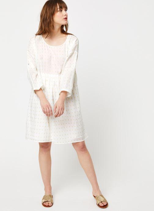 Vêtements School Rag Robe Rawel Blanc vue bas / vue portée sac