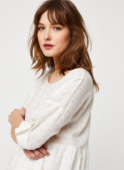 Vêtements School Rag Robe Rawel Blanc vue face