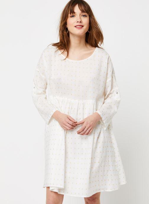 Vêtements School Rag Robe Rawel Blanc vue droite