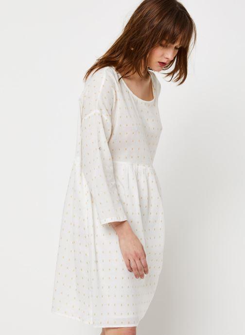 Vêtements School Rag Robe Rawel Blanc vue détail/paire
