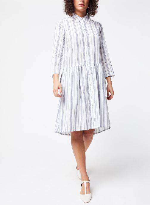 Vêtements School Rag Robe Renatta Blanc vue bas / vue portée sac