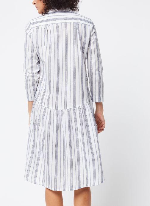Vêtements School Rag Robe Renatta Blanc vue portées chaussures