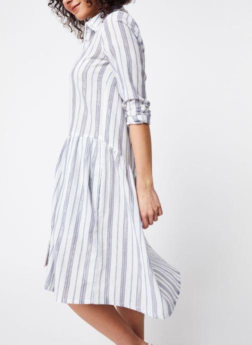 Vêtements School Rag Robe Renatta Blanc vue droite