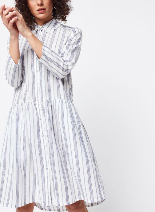 Vêtements School Rag Robe Renatta Blanc vue détail/paire