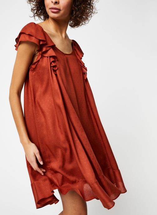 Vêtements School Rag Robe Ribella Marron vue droite