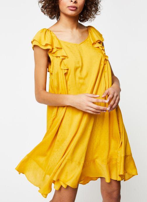 Vêtements School Rag Robe Ribella Jaune vue détail/paire