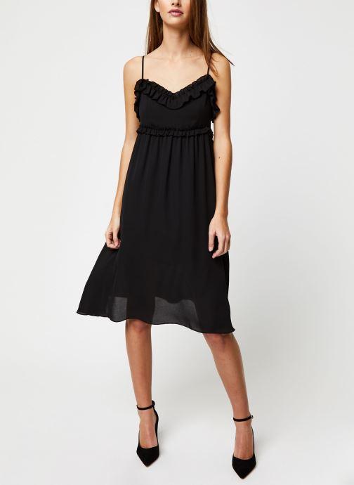 Vêtements School Rag Robe Ruby Noir vue bas / vue portée sac