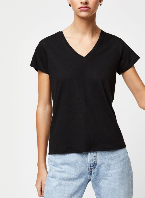 Vêtements School Rag T-shirt Tessa Noir vue droite