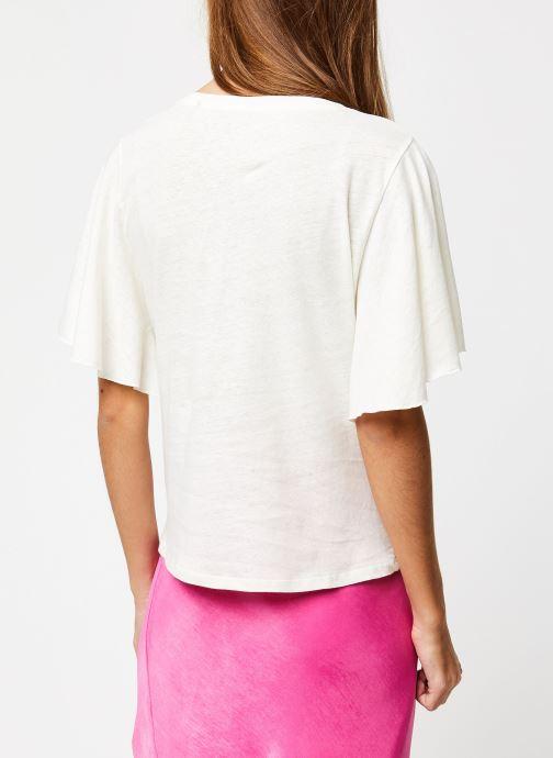 Kleding School Rag Tee-shirt Tonya Wit model