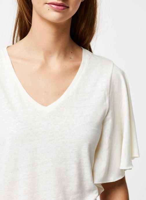 Kleding School Rag Tee-shirt Tonya Wit voorkant