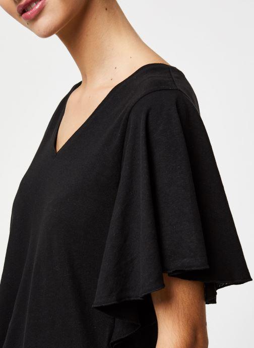 Vêtements School Rag Tee-shirt Tonya Noir vue face