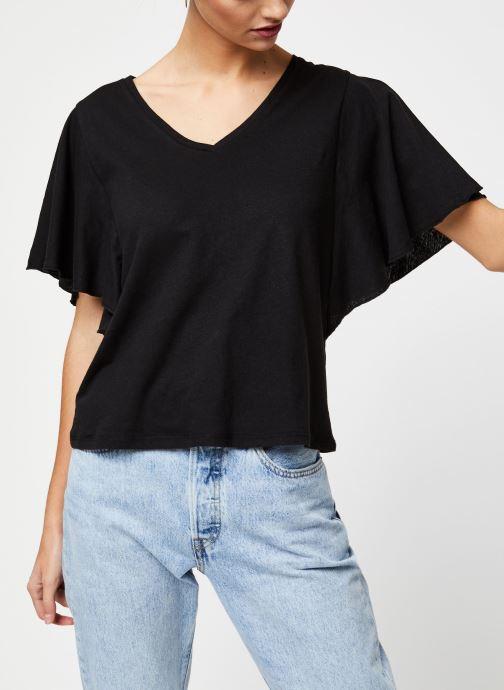 Vêtements School Rag Tee-shirt Tonya Noir vue détail/paire