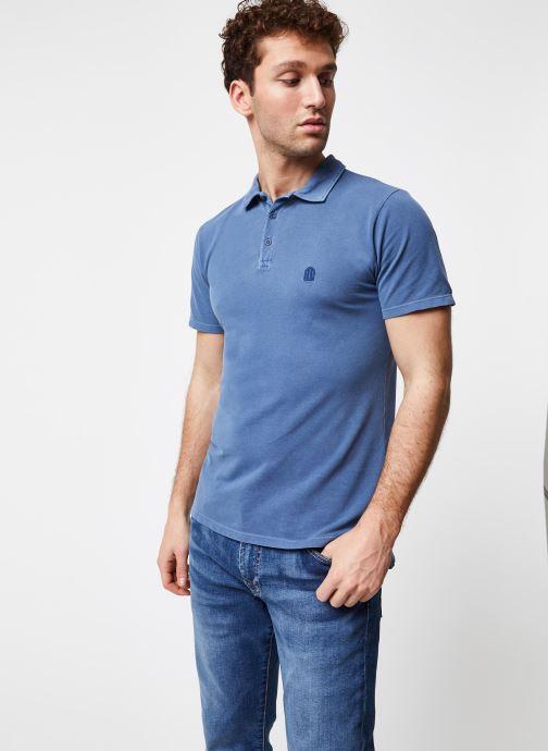 Tøj Cuisse de Grenouille Polo - Classic Polo + Maison Blå Se fra højre