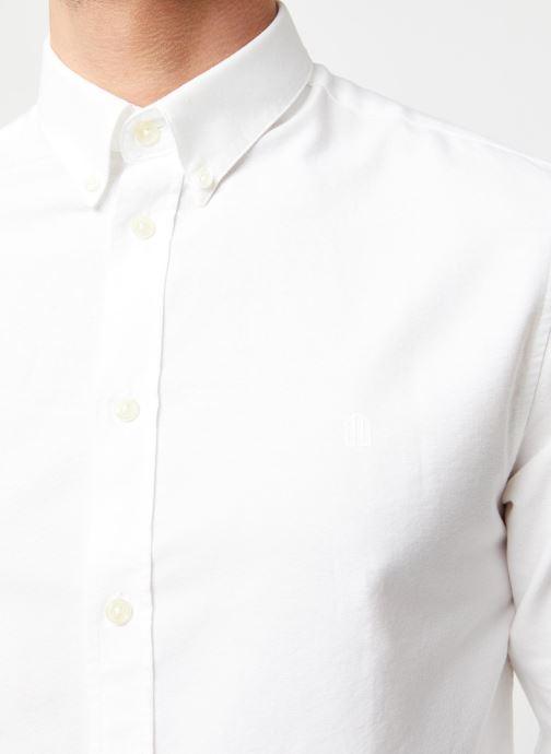 Vêtements Cuisse de Grenouille Shirt – Button Down + Maison Blanc vue face